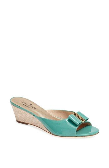 ece1089282f kate spade new york 'dixie' wedge sandal | Shoes each one has its ...