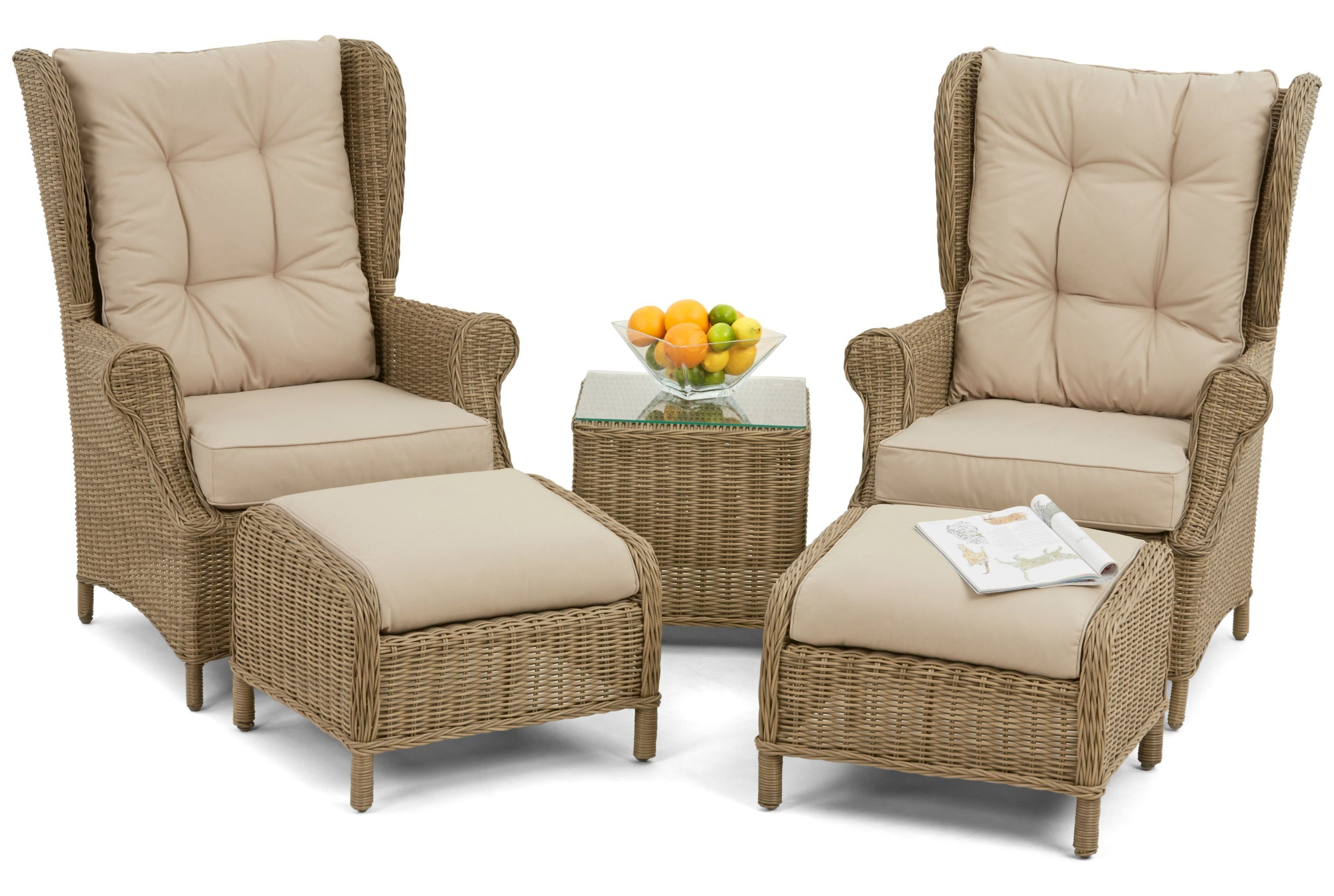 Maze Rattan - Winchester High Back Lounge Set | Ideas for Spanish ...