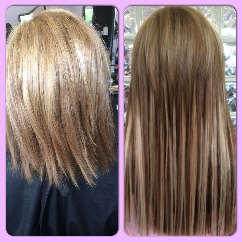 Short blonde hair to long blonde extensions for the love of short blonde hair to long blonde extensions pmusecretfo Image collections