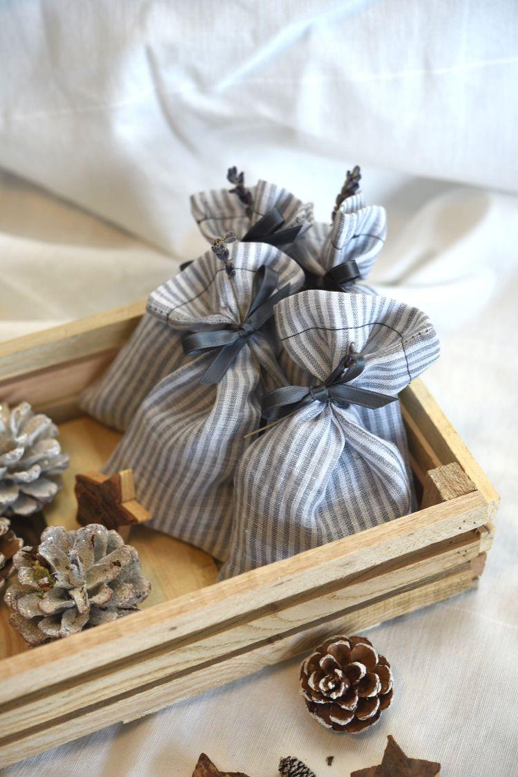 Nähen Lavendelsäckchen Weihnachtsgeschenk Schnell Genäht Mein