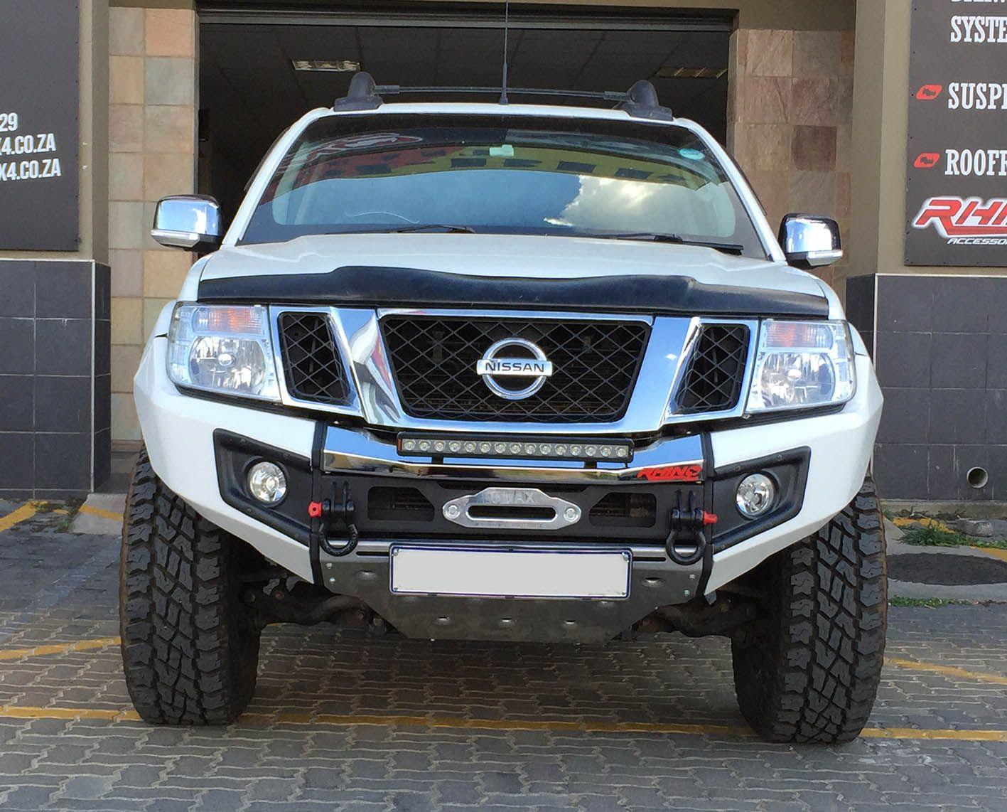 Rhino 4 215 4 Nissan Navara Front Evolution Bumper Trucks