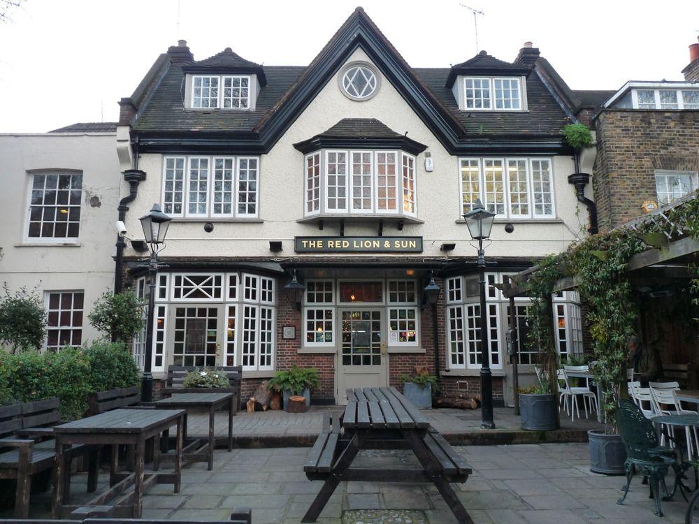 England London Hampstead Hampstead Heath Highgate Ponds Stock ...
