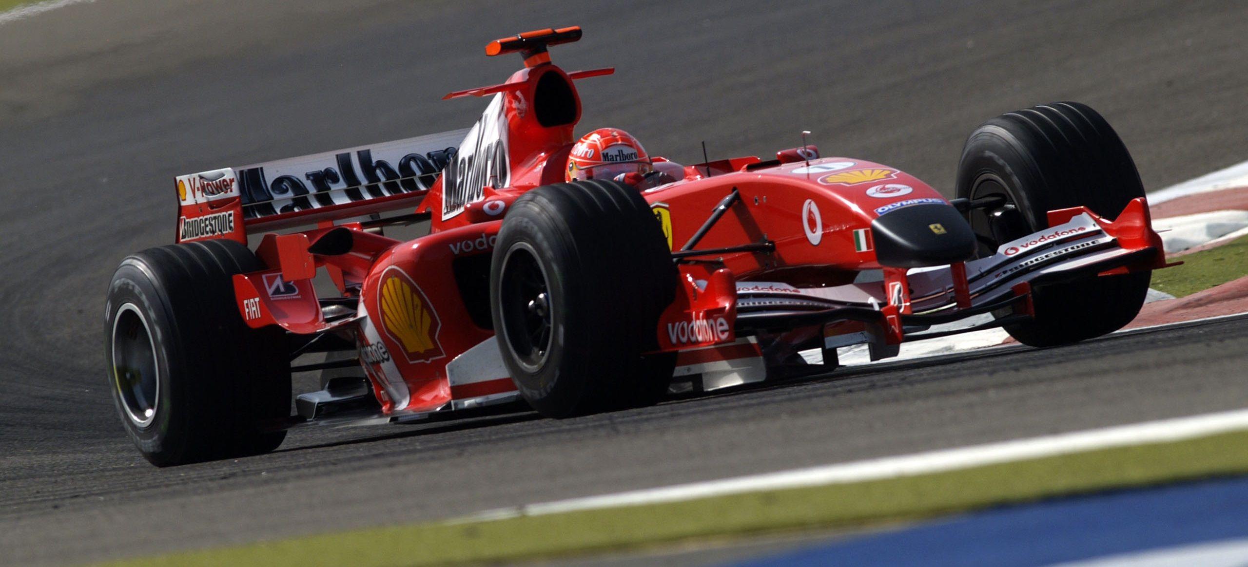 Michael Schumacher Ferrari F2005 GP Bahréin 2005