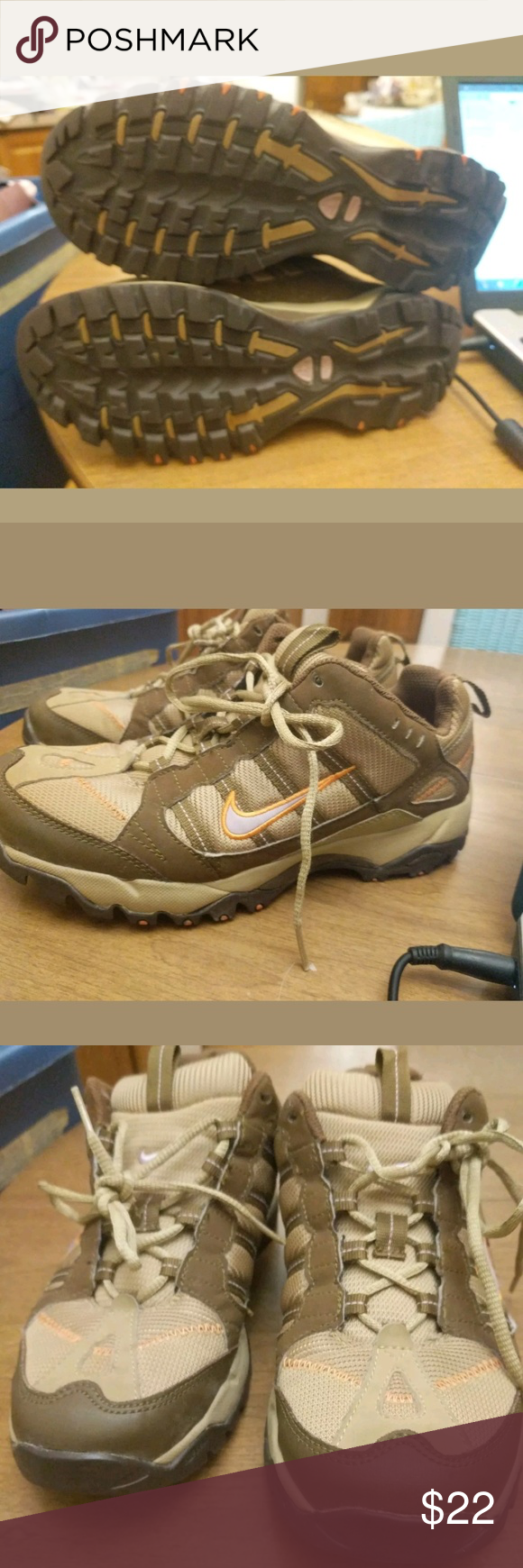 99 Nike ACG all-trac Trail Athletic Shoes 7.5 Up for bid is a nice ... 1a9a710efb