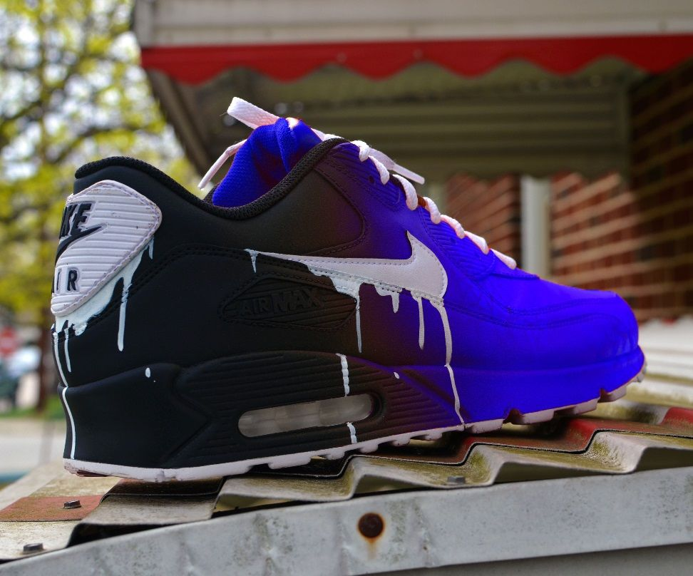 Nike Air Max 90 Custom Sneaker | Sneakers fashion, Nike