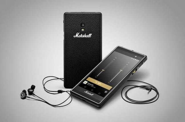 Marshall's London smartphone