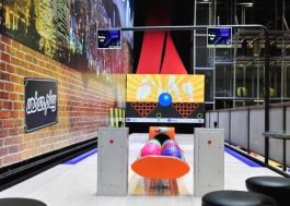 Imply Bowling Cafe - Compact Bowling Alley Lane Concept