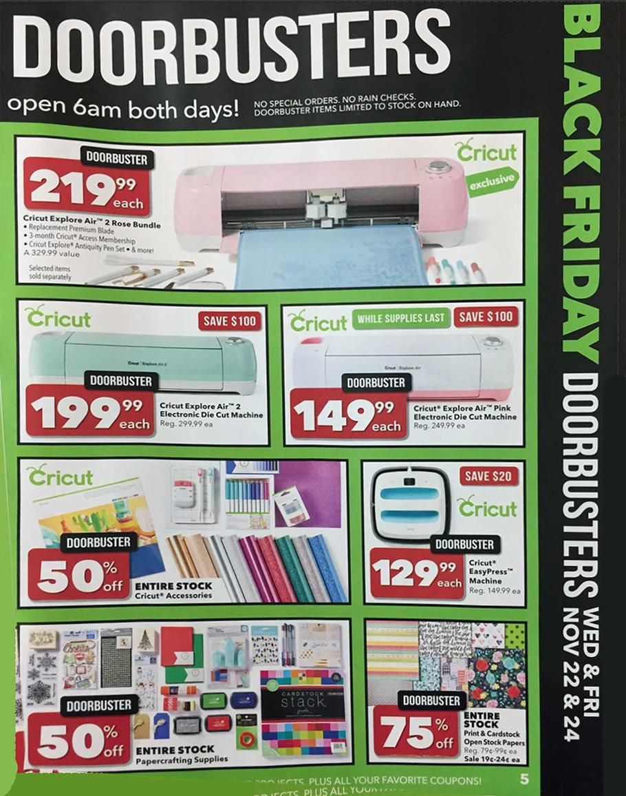 Joann Black Friday 2017 Ads And Deals Get The Best Joann Black Friday Deals 2017 To Save On Everything You Need This Y Black Friday 2017 Ads Black Friday Joann
