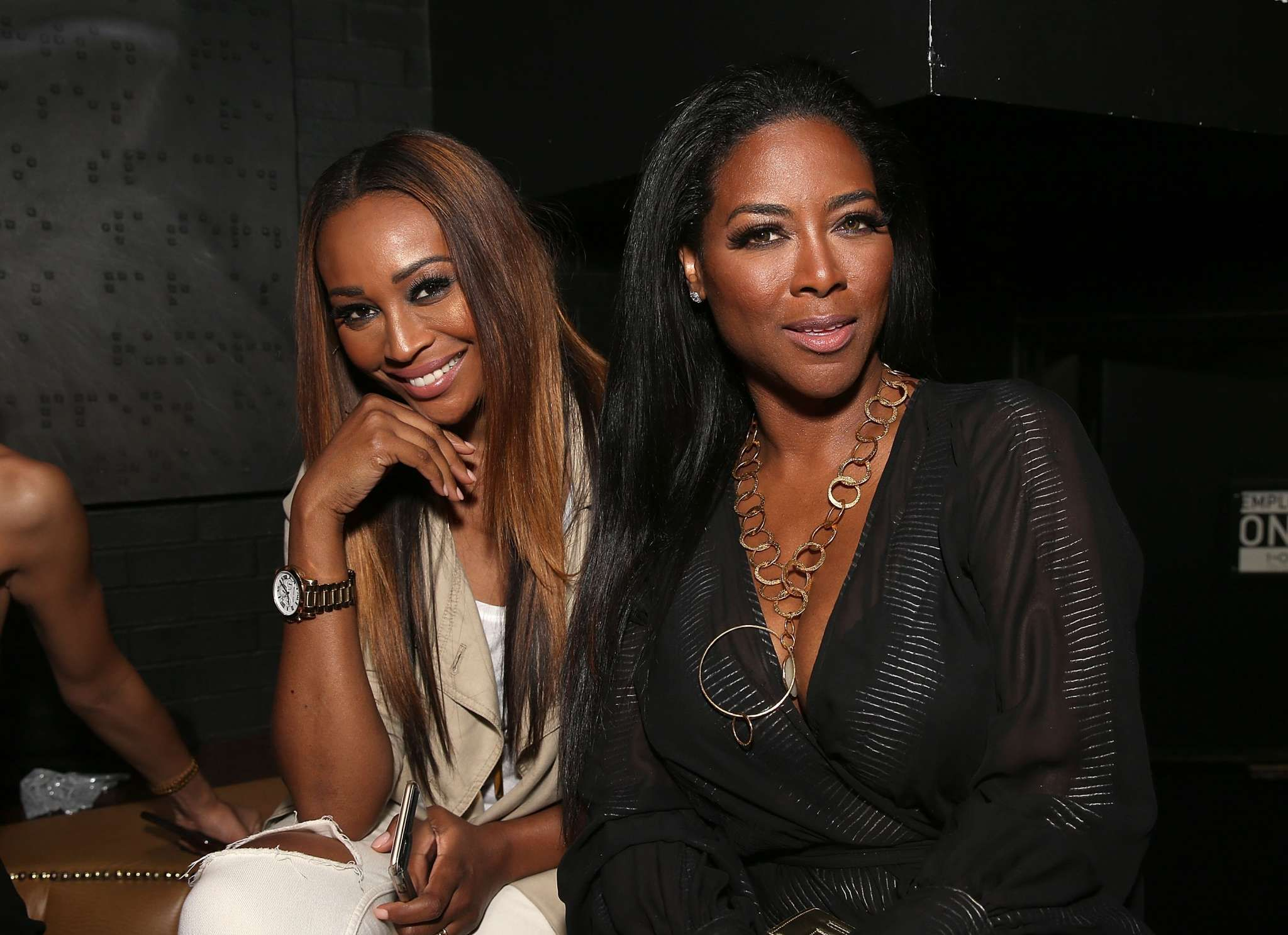 Cynthia Bailey Visits Kenya Moore And Her Baby See The