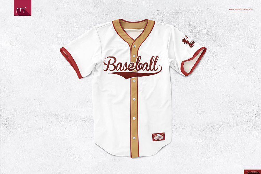 Download Baseball Jersey Mock-up | Baseball jerseys, Jersey ...