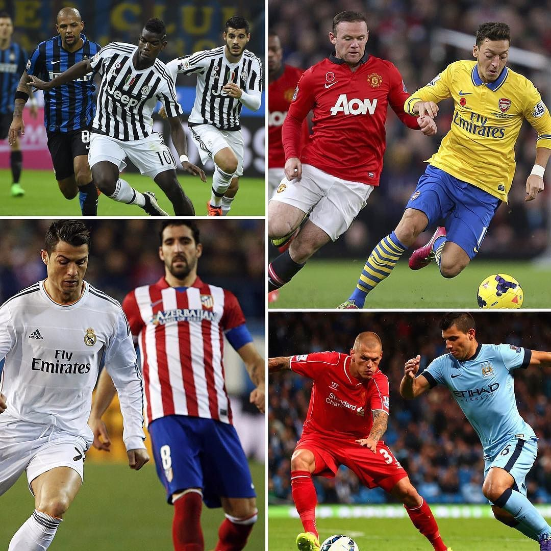Two derbies one Classic and one final! Have a Nice weekend! #supporterspro #capitalonefinal #premierleague #seriea #laliga #realmadrid #atleticomadrid #manunited #munited #juventus #inter #mcfc #liverpoolfc #football #soccer
