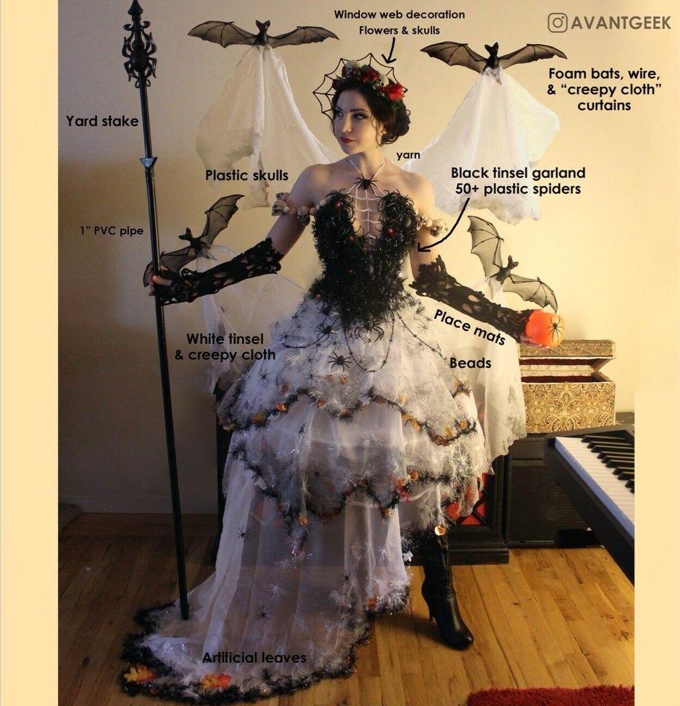 Reina araña disfraz en 2019 Disfraz de araña, Cosas de