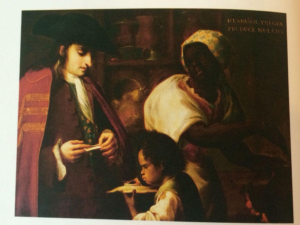Image result for de espanol y negra produce mulato
