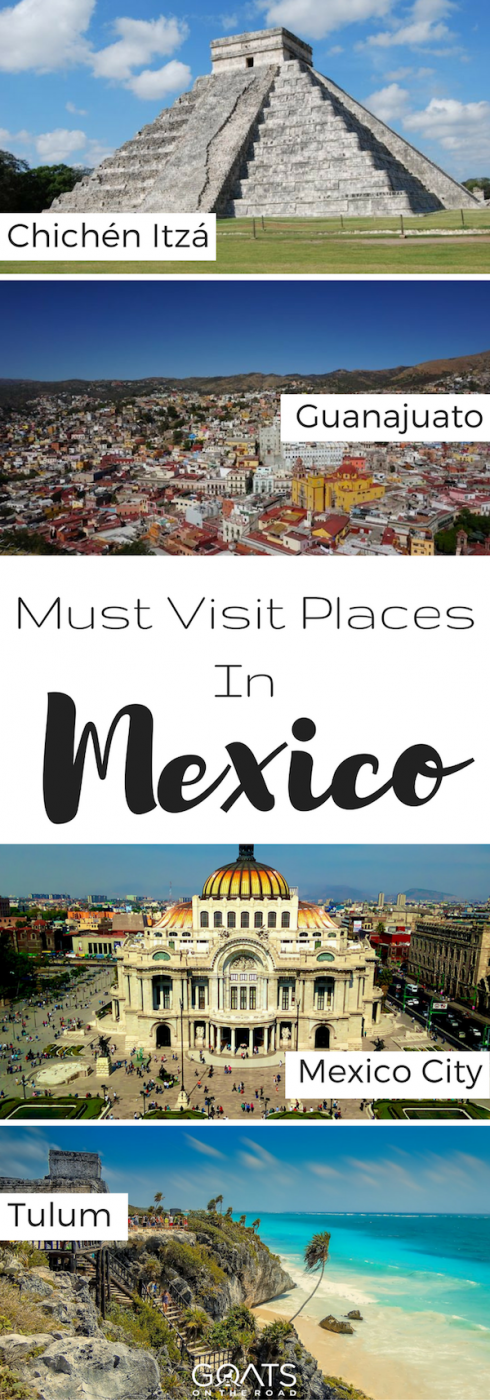 Top Attraction Place Of Mexico: 33 Best Places To Visit In Mexico In 2020