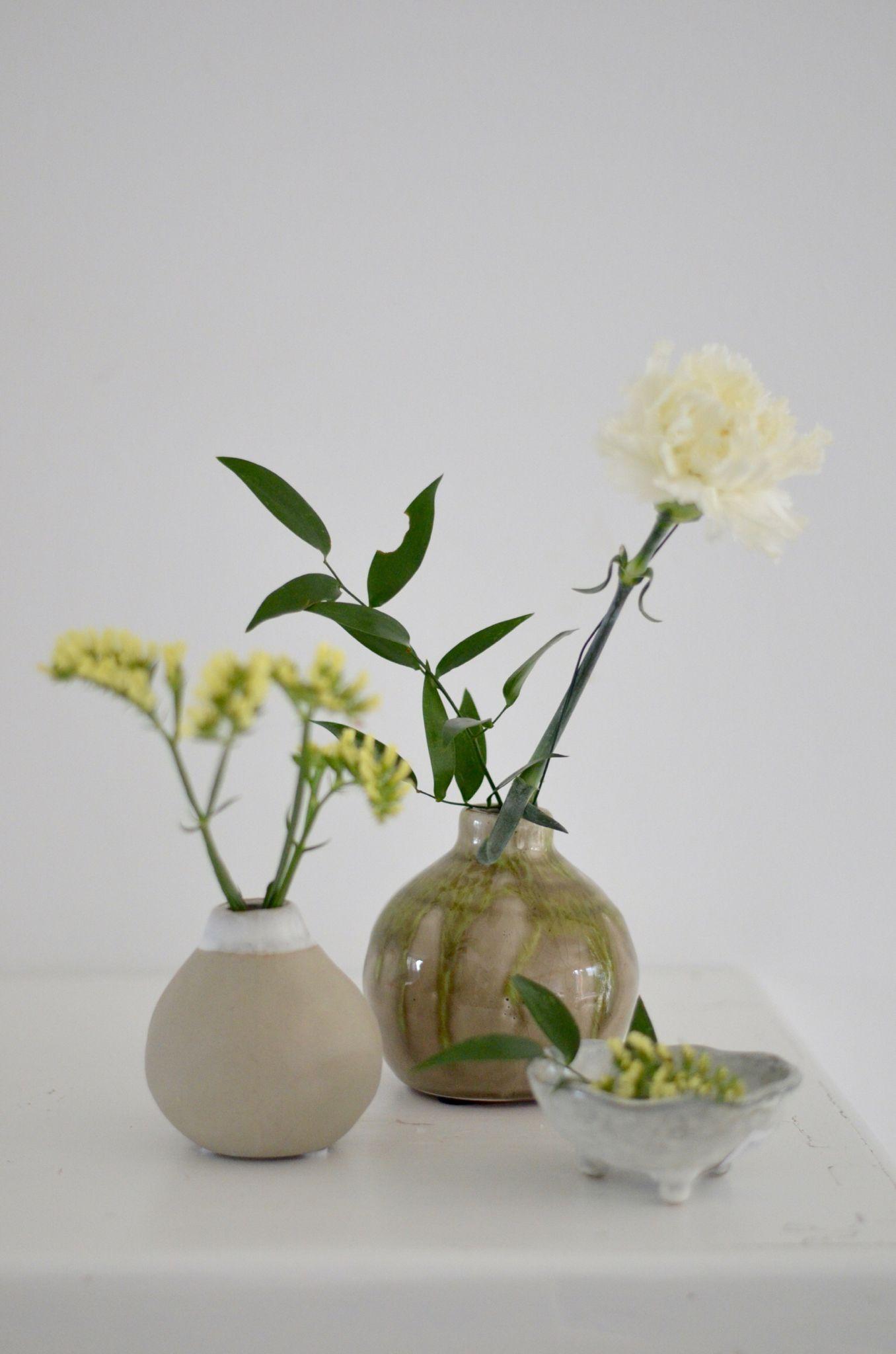 Hübsche Vasen für Blumen aus dem Garten #aumaison