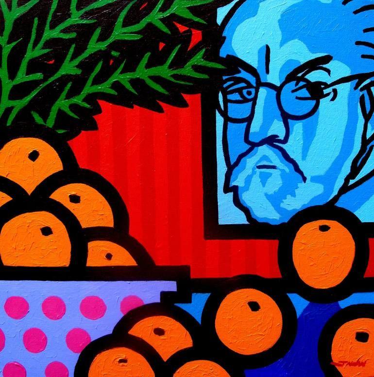 Still Life With Henri Matisse Painting by John Nolan | Saatchi ...