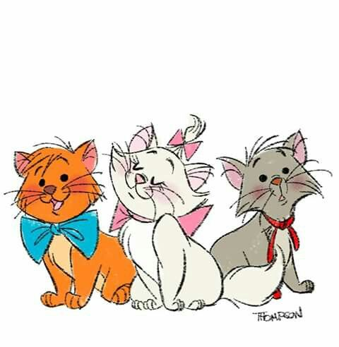 The Aristocats disney princesses t Los aristogatos