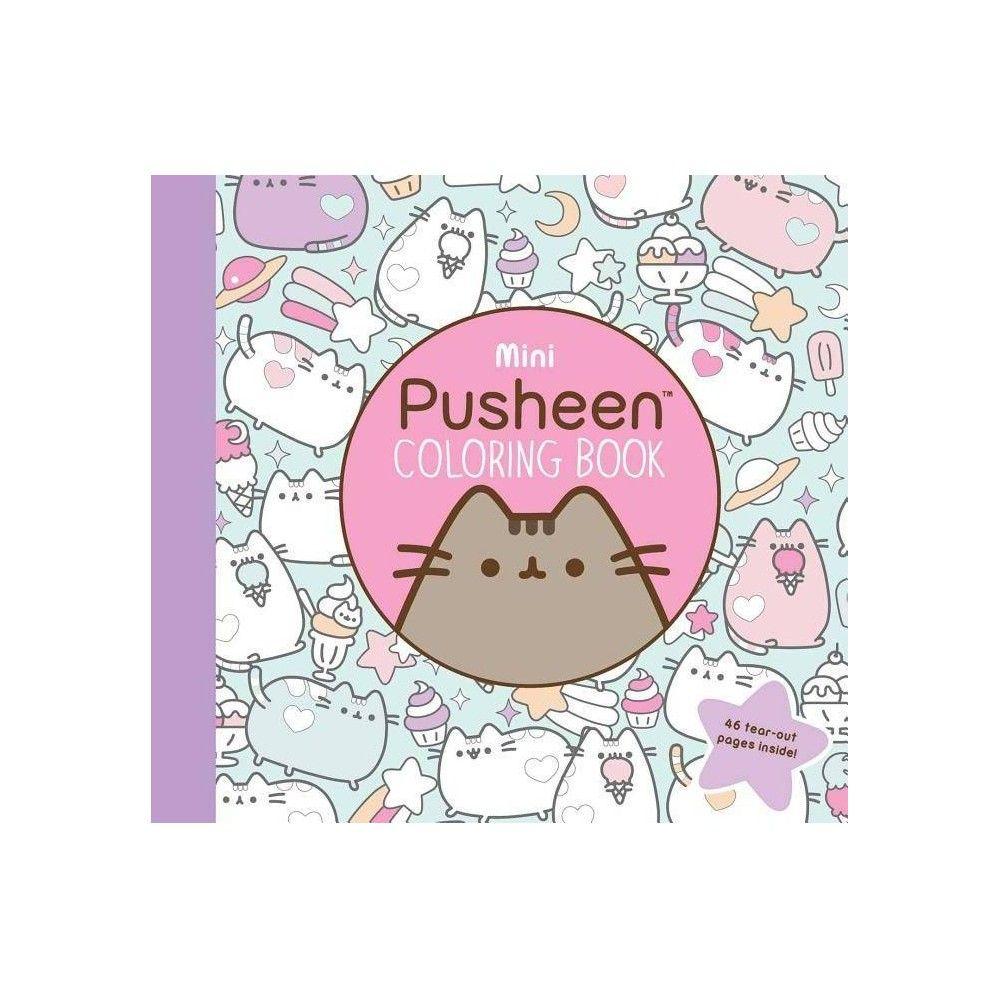 Mini Pusheen Coloring Book Pusheen Book By Claire Belton Paperback Pusheen Book Coloring Books Pusheen