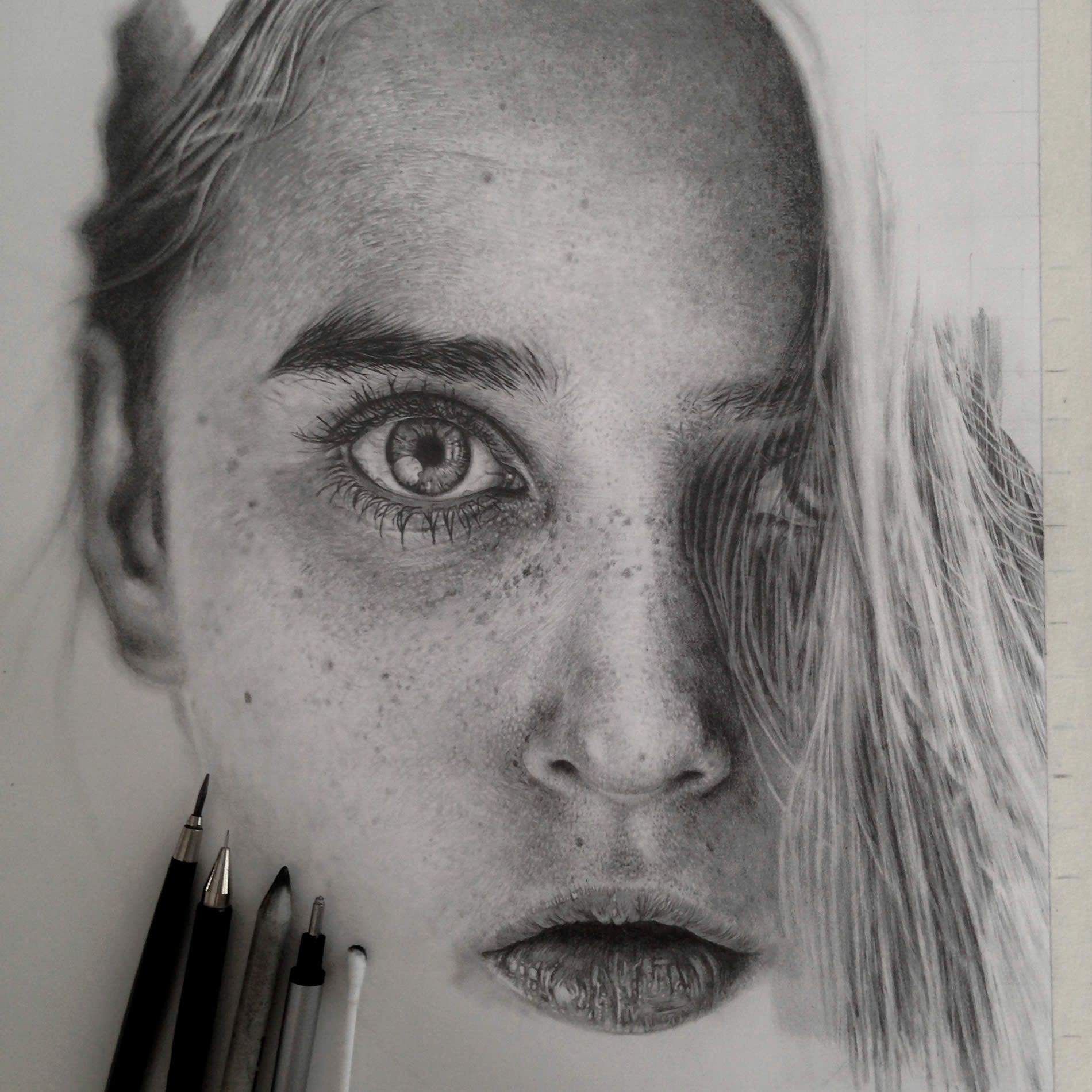 Stunning photo realistic graphite drawings by monica lee colossal stunning photo realistic graphite drawings by monica lee colossal ccuart Image collections