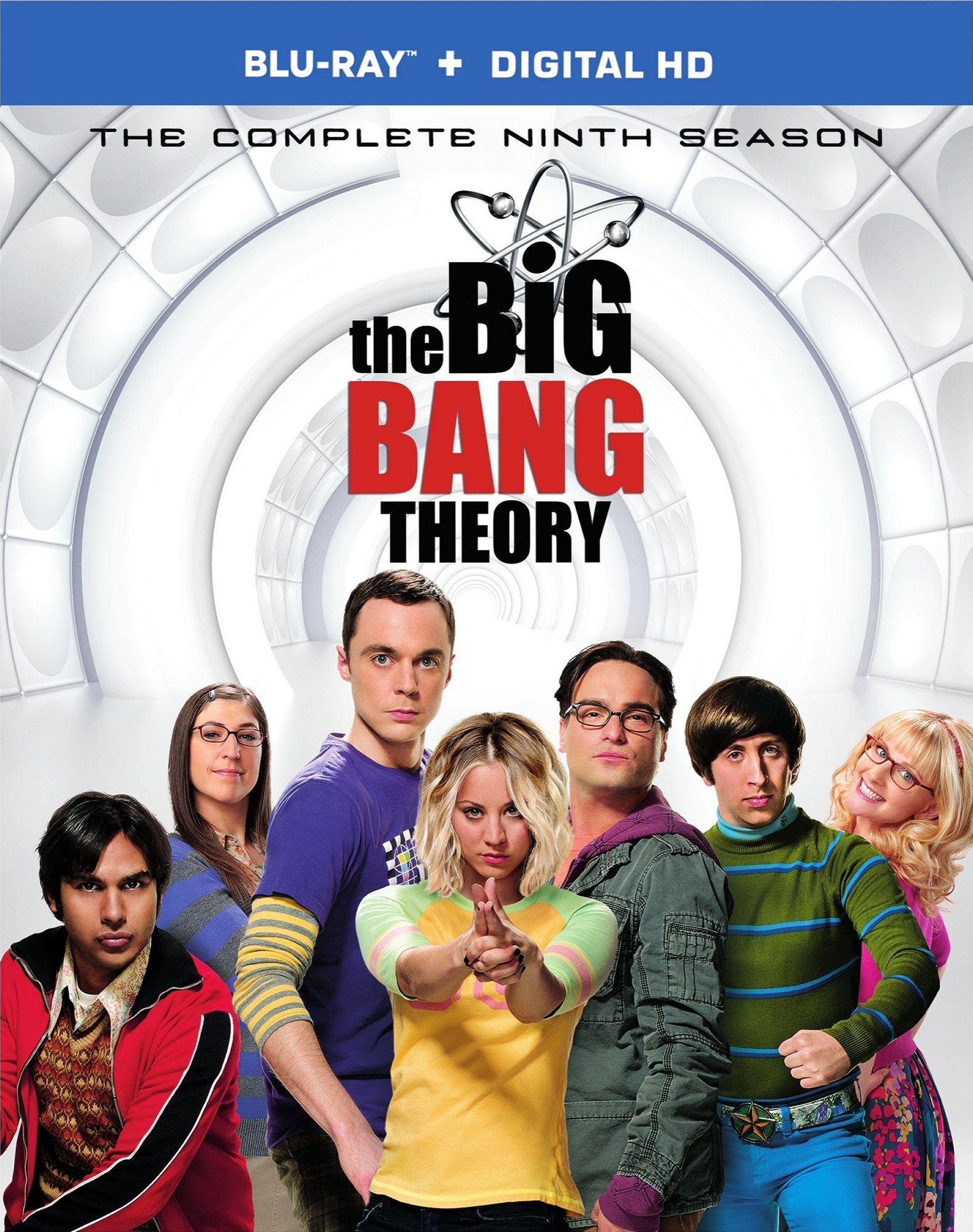 The Big Bang Theory: Season 9 (Blu-ray + Digital Offer) | Libros ...