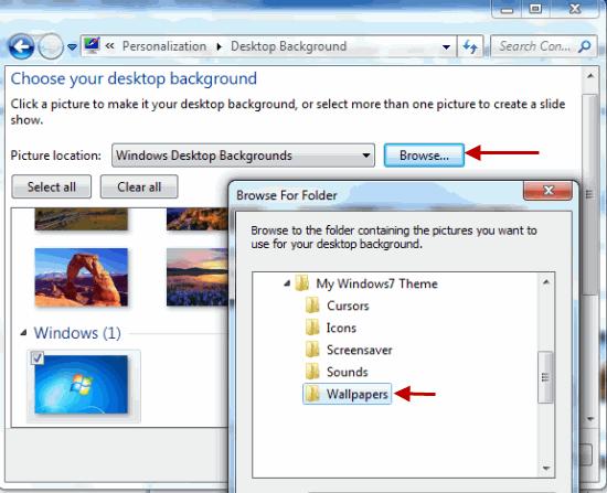 How To Create Your Own Windows 7 Theme Windows 7 Themes Windows Create Your Own