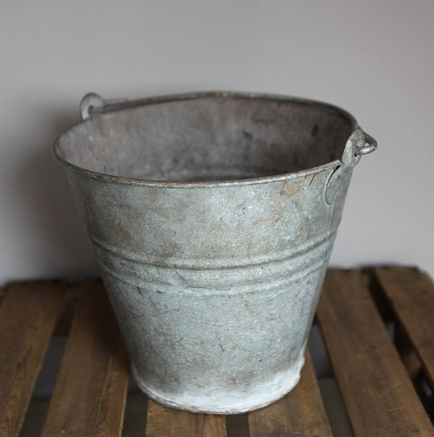metal bucket x 2 - or similar