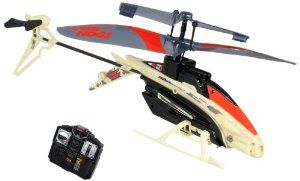 Air Hogs - Havoc Heli - Metallic Red/Bage by Air Hogs. $39.95. Experience the thrill of indoor flight with the Air Hogs R/C Havoc Heli - North America's #1 selling R/C Helicopter!^Infrared Remote Control comes in multiple frequencies allowing up to 3 pilots to fly Havoc Helis in the same room^Accurately navigates tight corners and sharp curves with 5 directional control^The Havoc Heli is made of a high-composite body that is highly durable against crash landings.  Made f...
