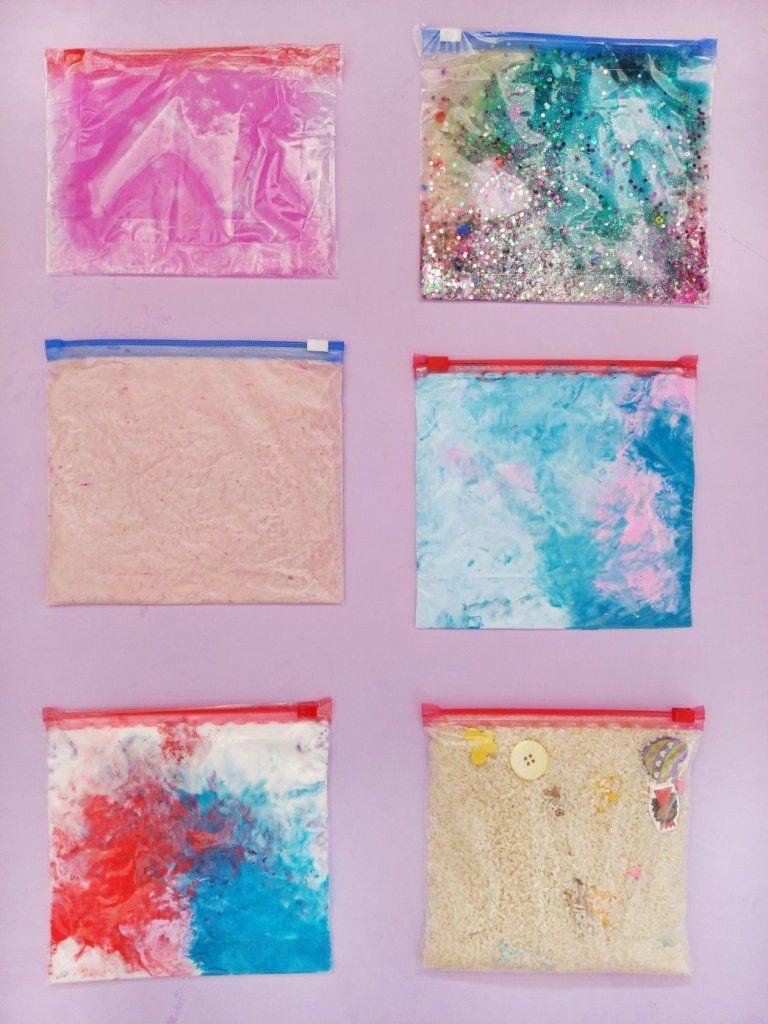 Photo of 6 bolsas de sensores diferentes – idea de juego simple para niños – little love