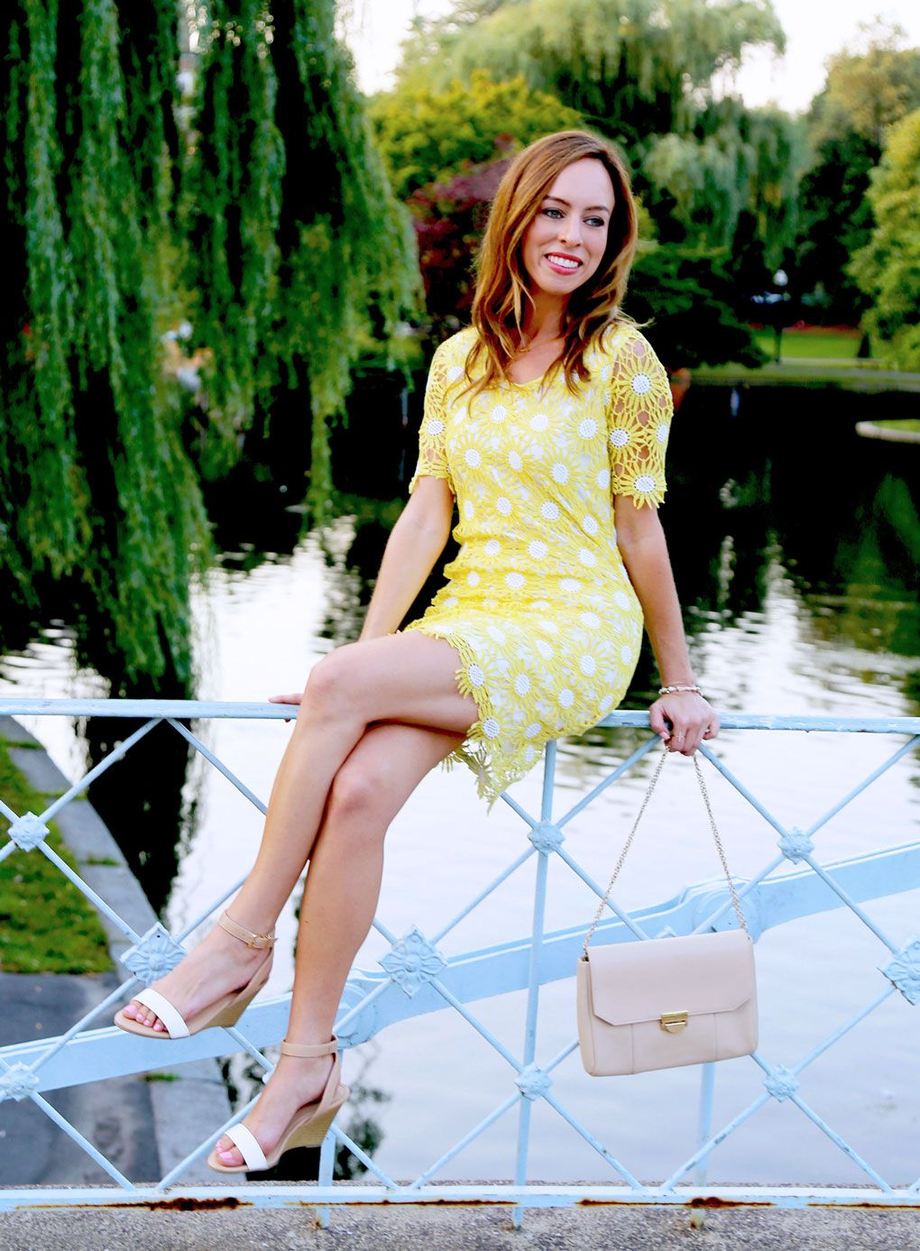 Sydne Style yellow dress for summer outfits