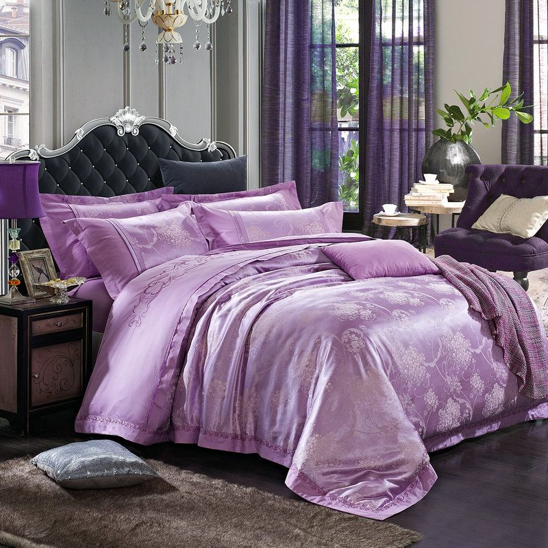 mkxi duvet cover sets one duvet cover and two pillowcases luxury palace floral silky satin jacquard king size