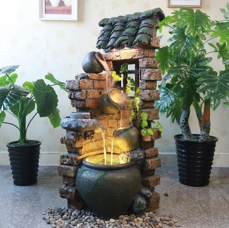 Splendid Concepts To Embellish Your Dream Indoor Water Fountains Correctly Indoor Water Features Indoor Water Fountains Tabletop Fountain