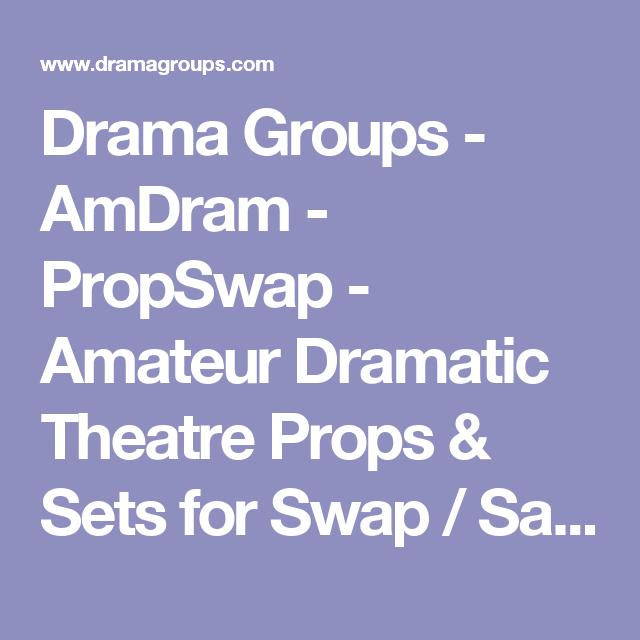 Theatre groups Amateur