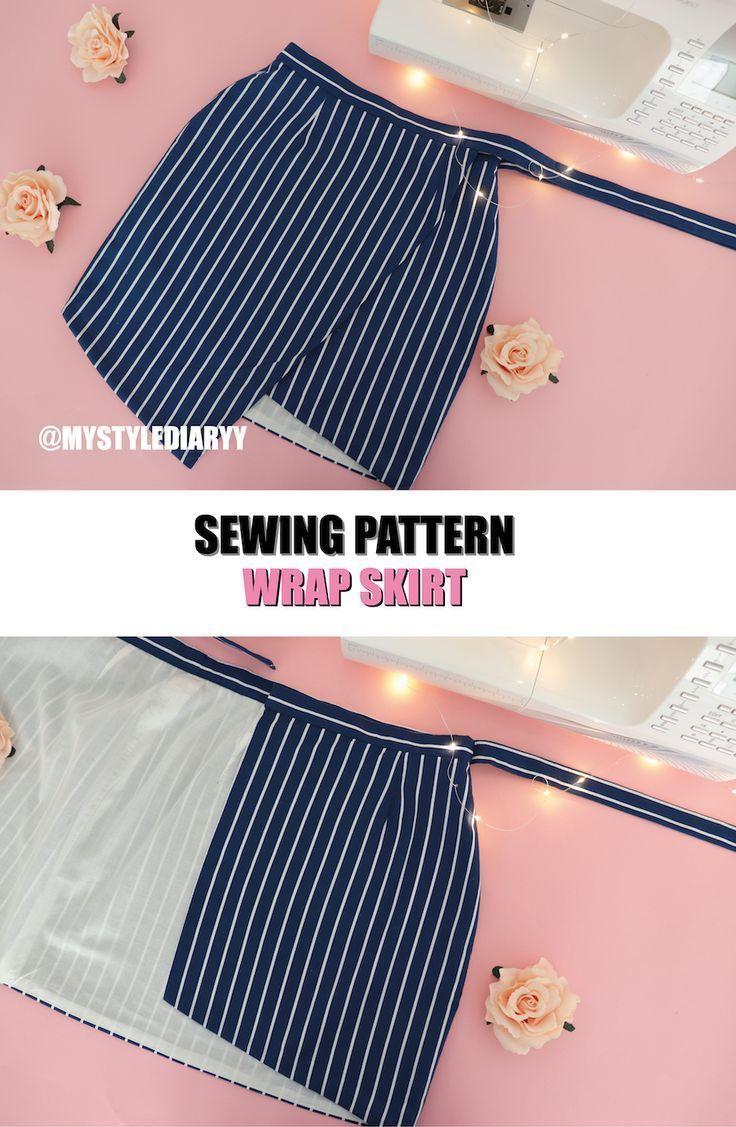 Photo of WRAP SKIRT SEWING PATTERN – #PATTERN #Sewing #Skirt #wrap – WRAP SKIRT SEWING PA…