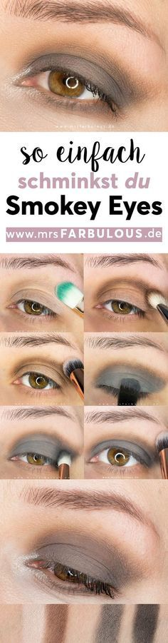 Photo of Simple Smokey Eyes make-up instructions with pictures – MrsFarbulous Beauty Fashion Lifestyle Blog from the Hanover area