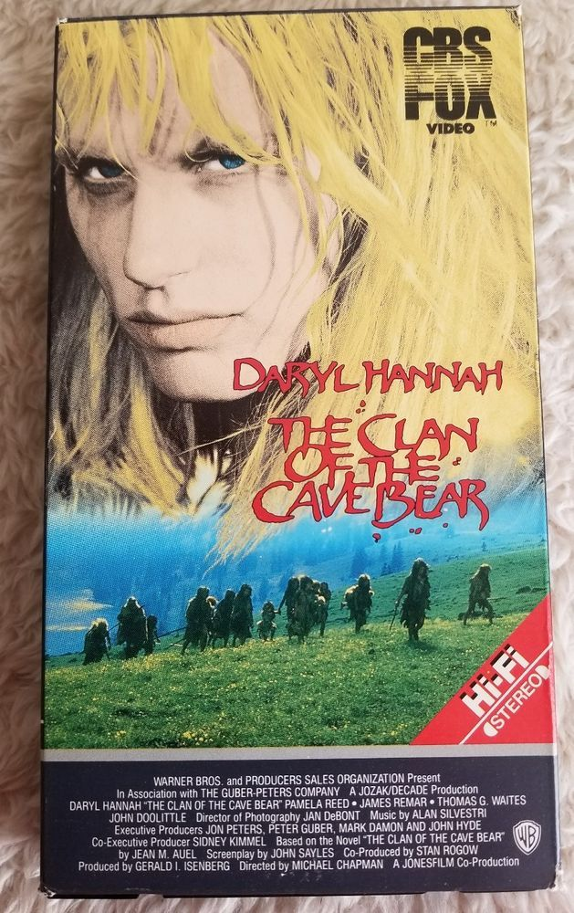The Clan Of The Cave Bear Vhs Daryl Hannah James Remar Pamela Reed