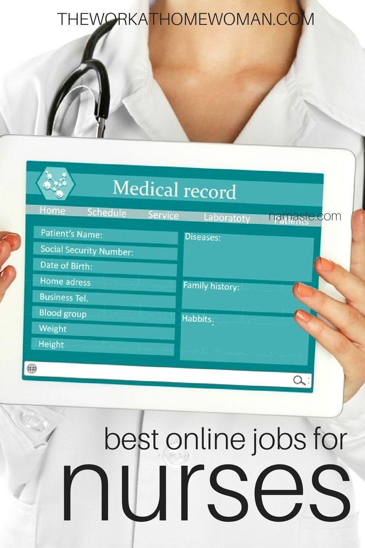 The Best Work At Home Jobs For Nurses In 2021 Nursing Jobs Medical Jobs Rn Job
