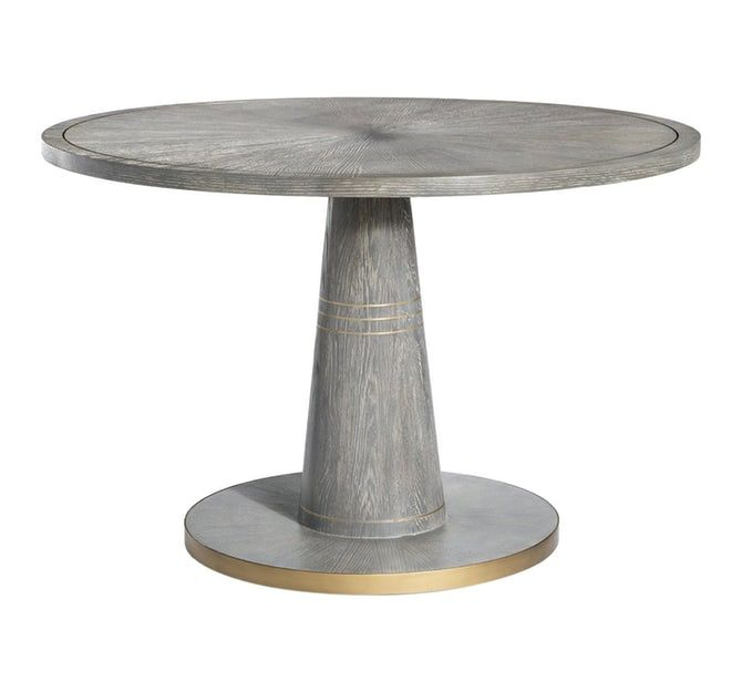 Elisa Dining Table Contemporary Metal Wood Dining Room Table By