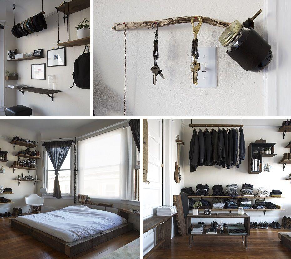 Bachelor Pad Bedroom Pinteres - Bachelors pad on a budget