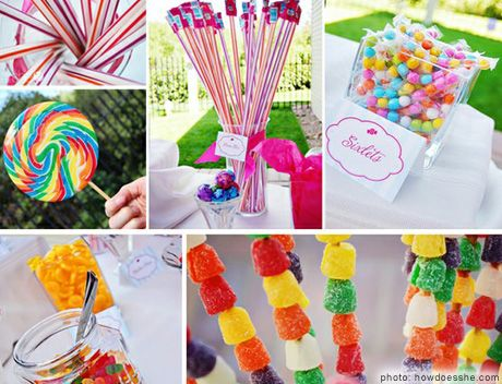 Party Decorating Ideas bring the candy! mmmmmm! what more can we say? | party places