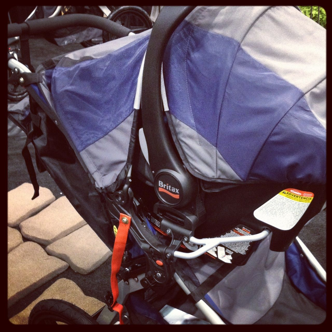 Britax's BSafe car seat is now compatible with BOB