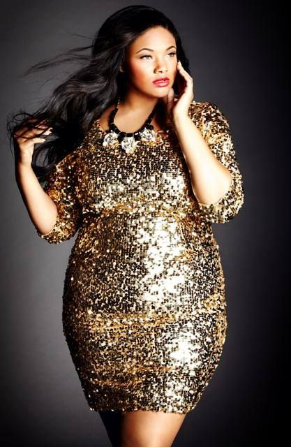 plus size gold metallic sequin dress new years style