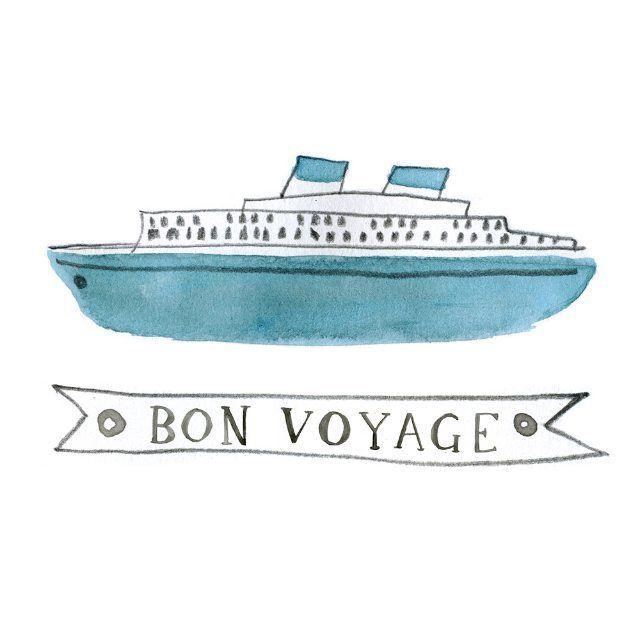 Drawing Cruise Ships Today Illustration Illustrator