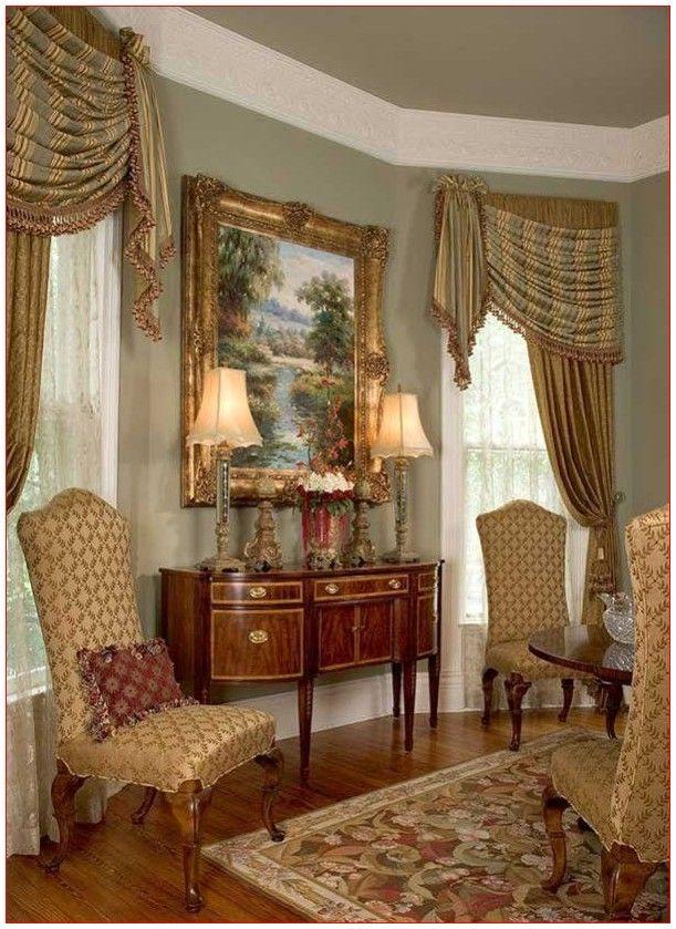 Drapes For Living Room Fancy in 2020 | Elegant home decor ...