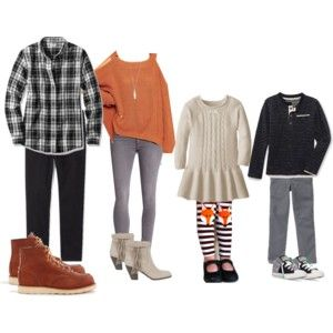 Fall Family Wardrobe - Casual