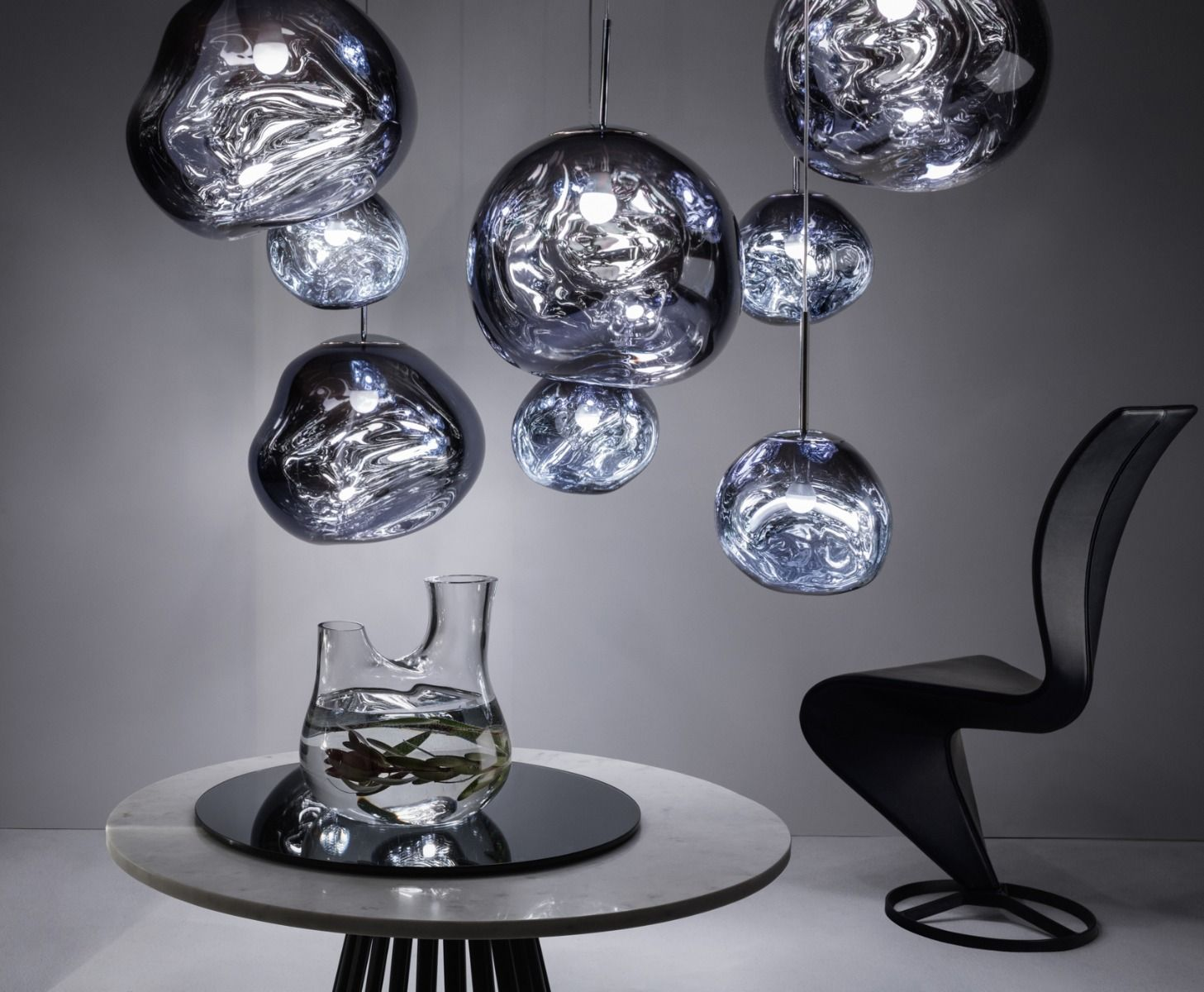 Melt Pendant Smoke Lighting Tomdixon Net Tom Dixon Melt Pendant Lamp Pendant Light
