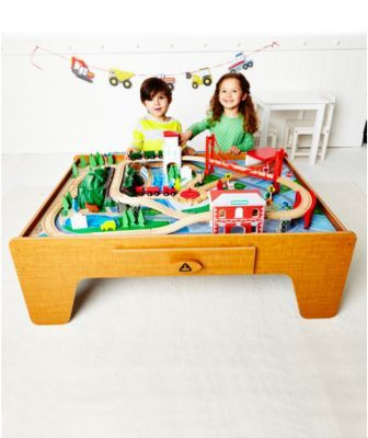 Elc Big City Train Table 100 This Is The Same As Toysrus Mountain