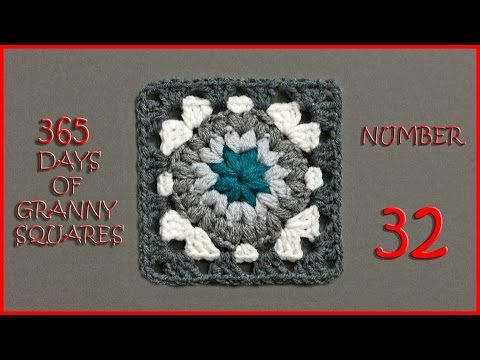 365 Days of Granny Squares Number 29 - YouTube | Crochet - Squares ...