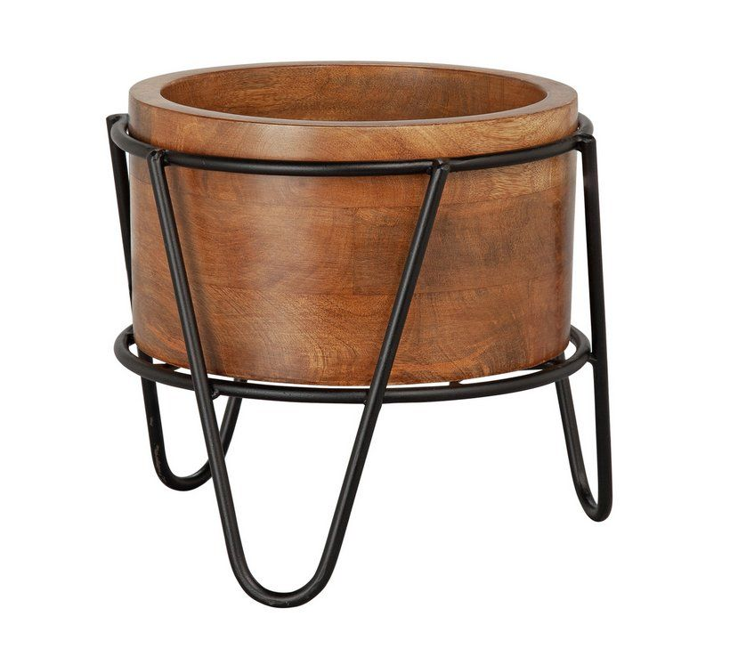 Buy Argos Home Global Monochrome Wooden Stand Planter Garden Pots And Planters Argos Wooden Stand Wooden Planters Argos Home