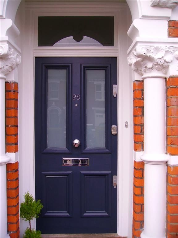 victorian door with window over door - Google Search | Window over ...