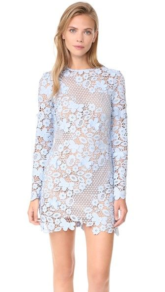80faa6d8de SELF-PORTRAIT 3D Floral Mini Dress.  self-portrait  cloth  dress  top  shirt   sweater  skirt  beachwear  activewear